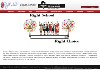 rightschool.co.in screenshot