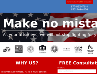 rightsforamerica.com screenshot