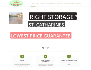 rightstorage.ca screenshot
