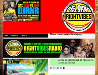rightvibesradio.com screenshot