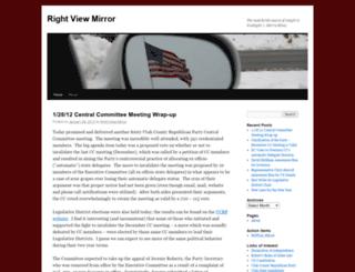 rightviewmirror.wordpress.com screenshot