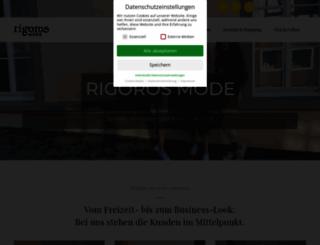 rigoros-mode.de screenshot