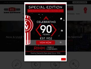 rihmkenworth.com screenshot