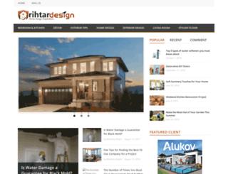 rihtardesigns.com screenshot