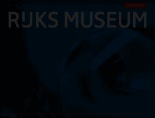 rijksmuseum.nl screenshot