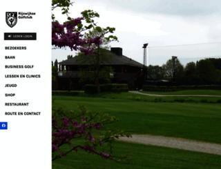 rijswijksegolf.nl screenshot
