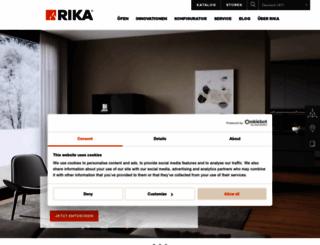 rika.at screenshot