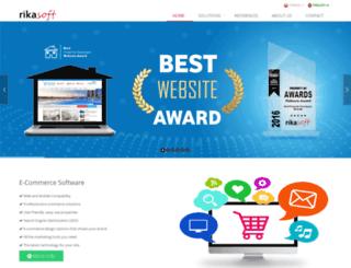 rikasoft.com screenshot