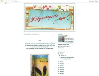 rikyscrapsite.blogspot.com screenshot