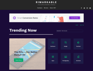 rimarkable.com screenshot
