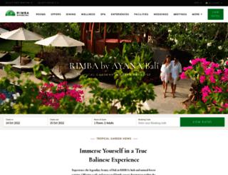 rimbajimbaran.com screenshot