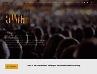 rimc.is screenshot