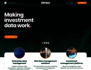 rimes.com screenshot