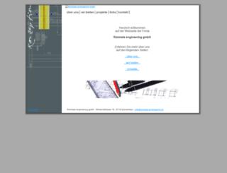 rimmele-engineering.ch screenshot