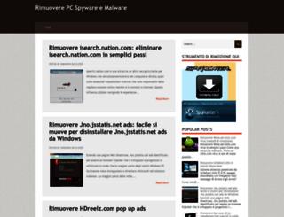 rimuovere-pc-malware.blogspot.in screenshot