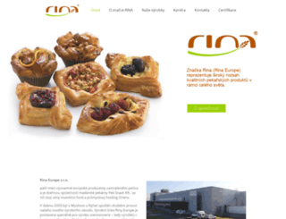 rina.cz screenshot