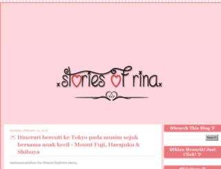 rinastories.blogspot.com screenshot