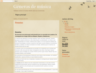 rincondemusic.blogspot.com screenshot