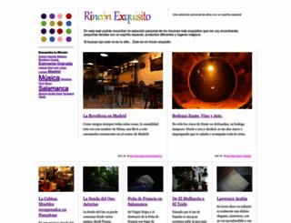 rinconexquisito.com screenshot