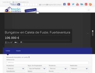 rinconinmobiliario.net screenshot