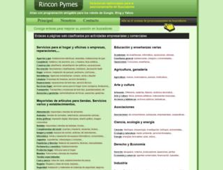 rinconpymes.com screenshot