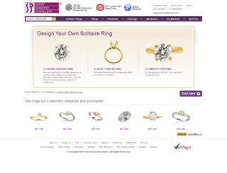 ringdesign.suratdiamond.com screenshot