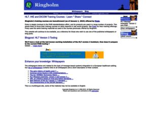 ringholm.com screenshot