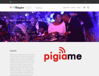 ringier.co.ke screenshot