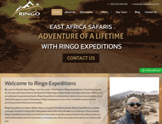 ringoexpeditions.com screenshot