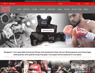 ringsport.com.au screenshot