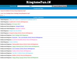 ringtonefun.in screenshot
