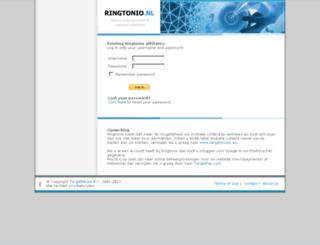 ringtonio.nl screenshot
