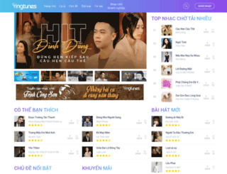 ringtunes.vinaphone.com.vn screenshot