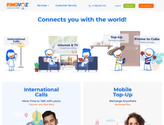 ringvoz.com screenshot