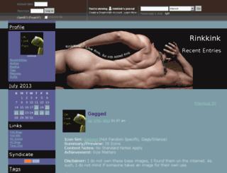 rinkkink.dreamwidth.org screenshot
