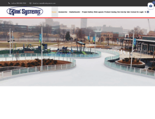 rinksystems.com screenshot