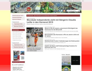 rio-karneval.de screenshot