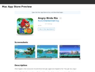 rio-mac.angrybirds.com screenshot