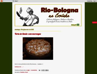 riobolognacucina.blogspot.com screenshot