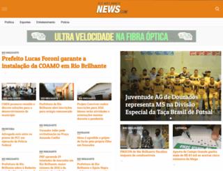 riobrilhantenews.com screenshot