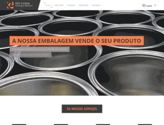 riocaima.pt screenshot