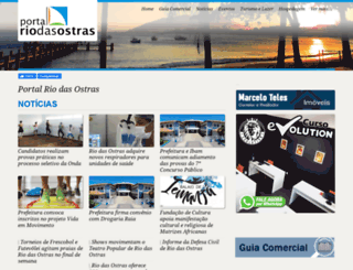 riodasostras.com.br screenshot