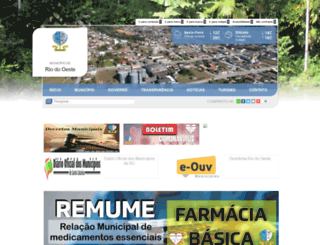 riodooeste.sc.gov.br screenshot