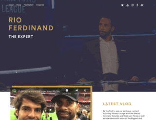 rioferdinand.com screenshot