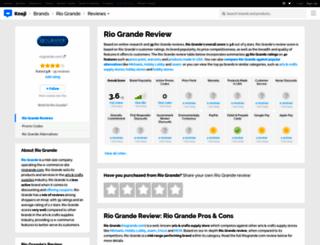 riogrande.knoji.com screenshot