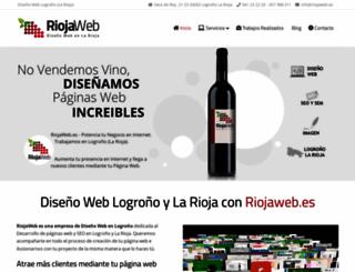 riojaweb.es screenshot