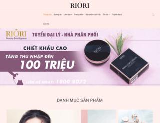 riori.com.vn screenshot