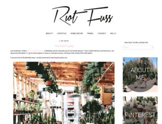 riotfuss.com screenshot