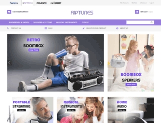 rip-tunes.com screenshot