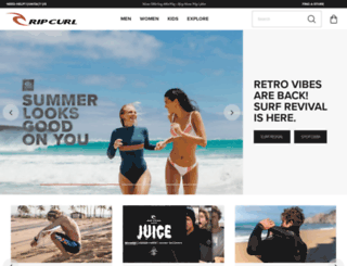 ripcurl.com.au screenshot